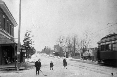 Yonge looking north at Sheppard 1911