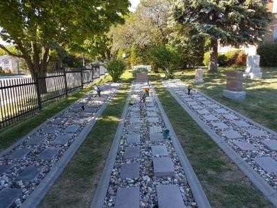 Knox Cemetery rows