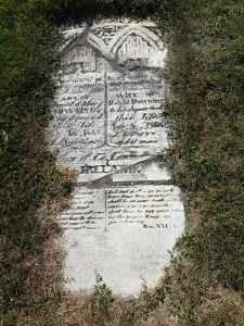 Knox Cemetery stone
